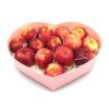 Premier Star Apples in Heart Shaped Box